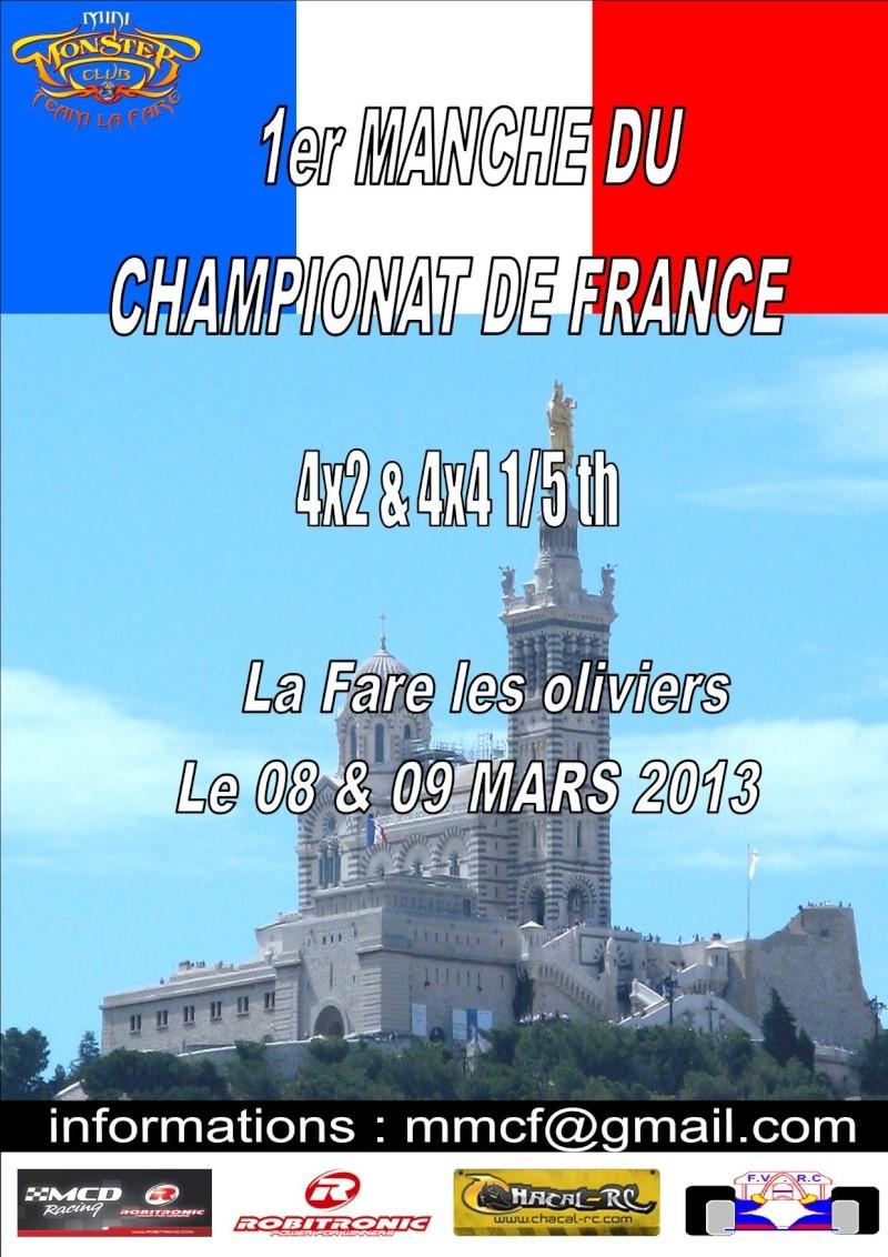 1 er Manche du CF  la Fare les oliviers le 08 & 09 Mars 2013 Cf_20110