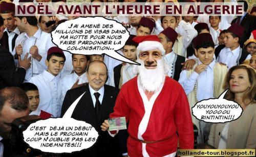 Le voyage de François Hollande en Algérie. 24d57710