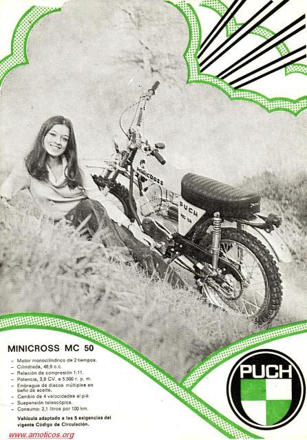 puch - La Puch Minicros 1ª Serie de Peñarroya Follet10