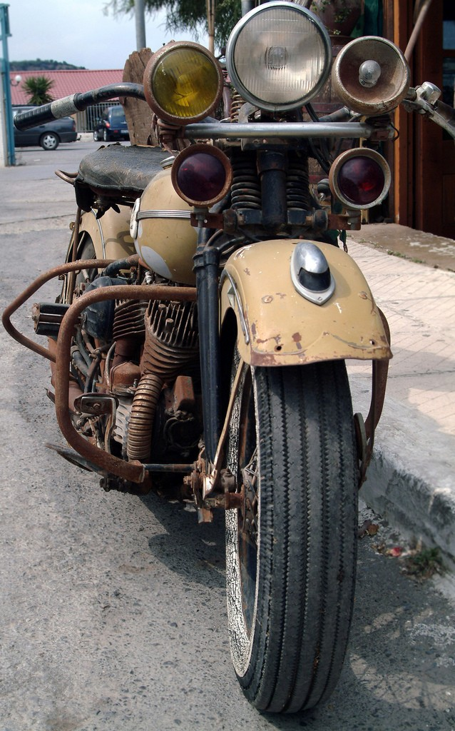 Les vieilles Harley....(ante 84)..... - Page 3 Davids11