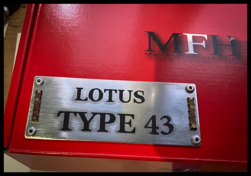 Lotus 43 BRM, Jim Clark, US GP 1966 Watkins Glen. MFH 1/20. 0850cd10