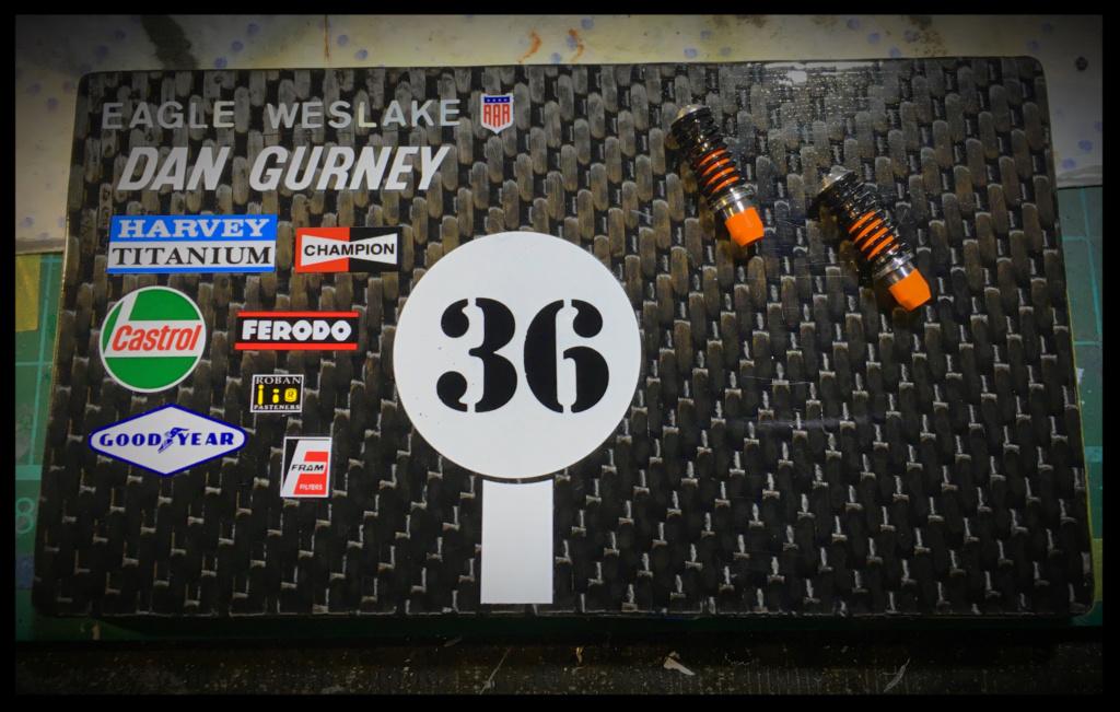 Gurney Eagle Weslake T1G, Dan Gurney, 1967. MFH, 1/20. 25114510