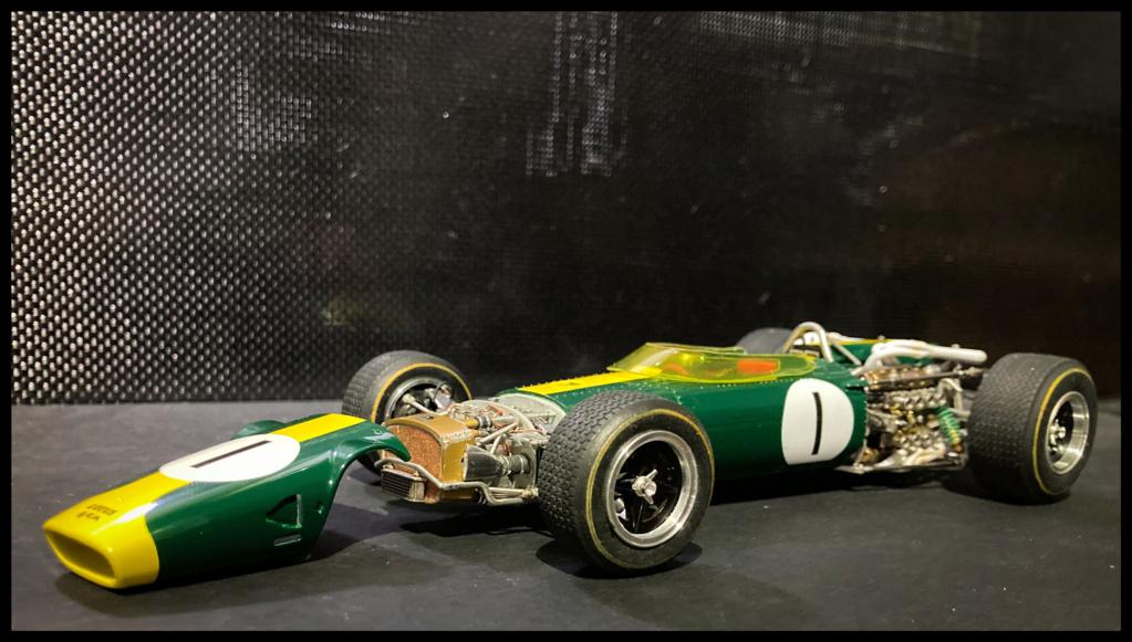 Lotus 43 BRM, Jim Clark, US GP 1966 Watkins Glen. MFH 1/20. 2874e010