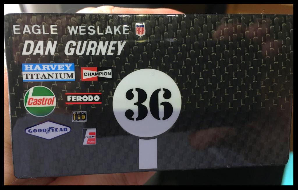 Gurney Eagle Weslake T1G, Dan Gurney, 1967. MFH, 1/20. 3061e610
