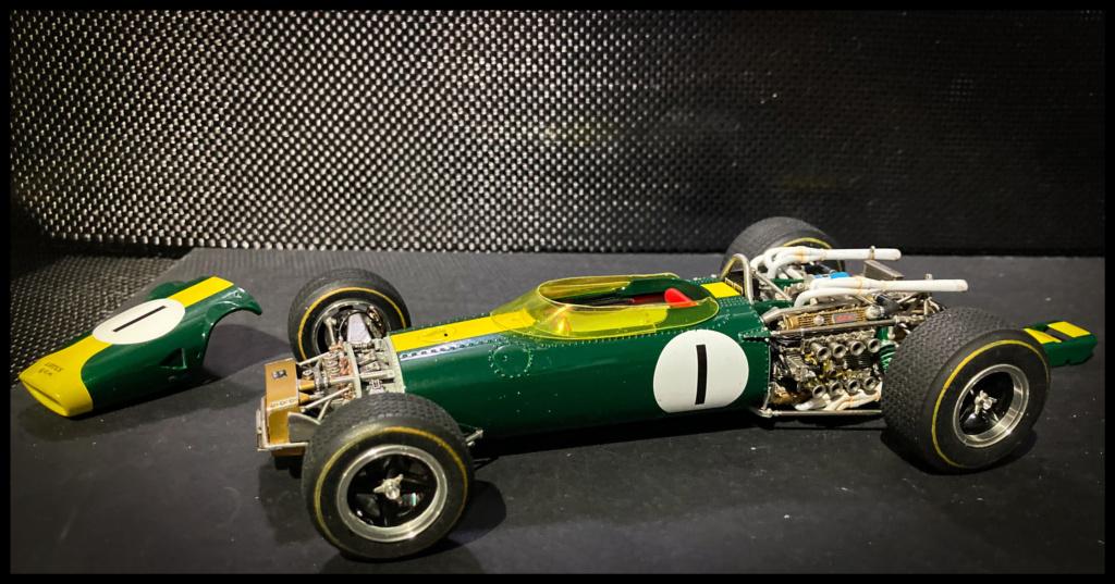 Lotus 43 BRM, Jim Clark, US GP 1966 Watkins Glen. MFH 1/20. 4045fe10