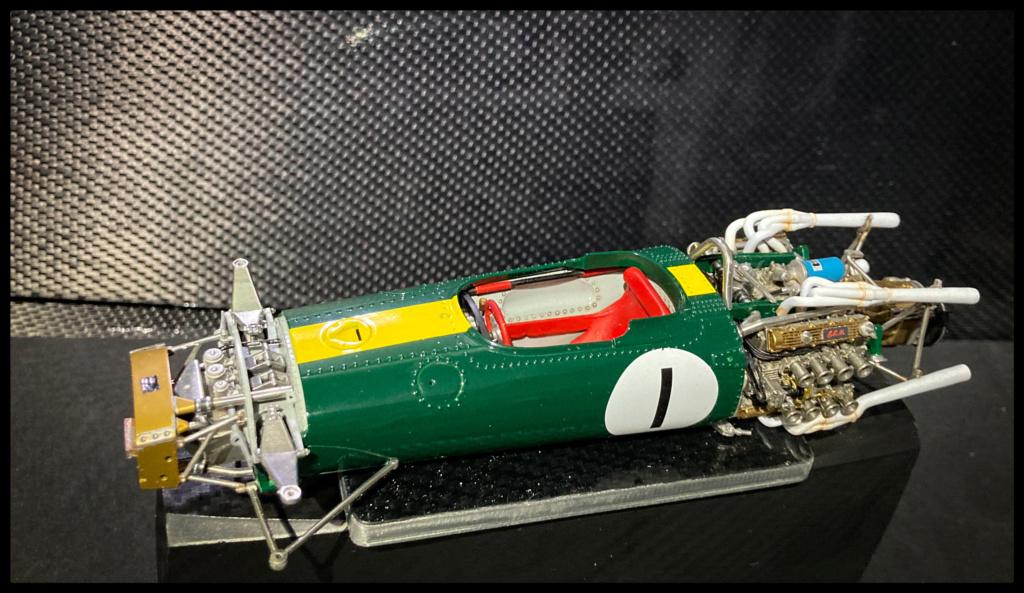 Lotus 43 BRM, Jim Clark, US GP 1966 Watkins Glen. MFH 1/20. 4576aa10