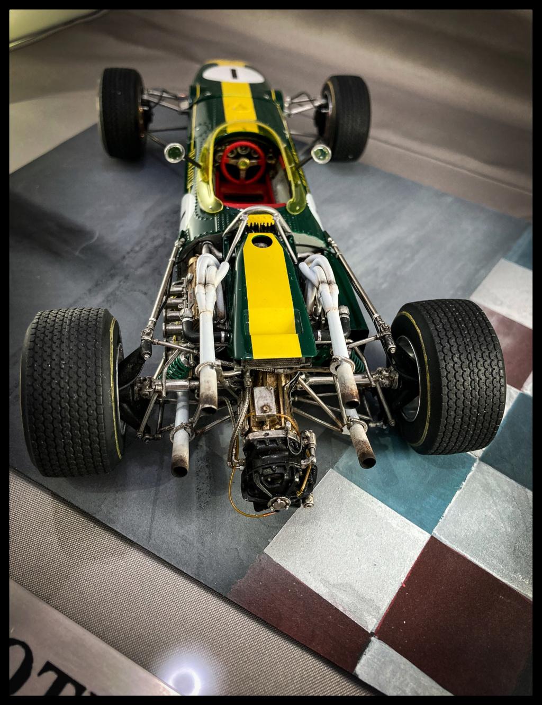 1/20 MFH 1966 Lotus 43, Jim Clark, US GP Watkins Glen. 68322c10