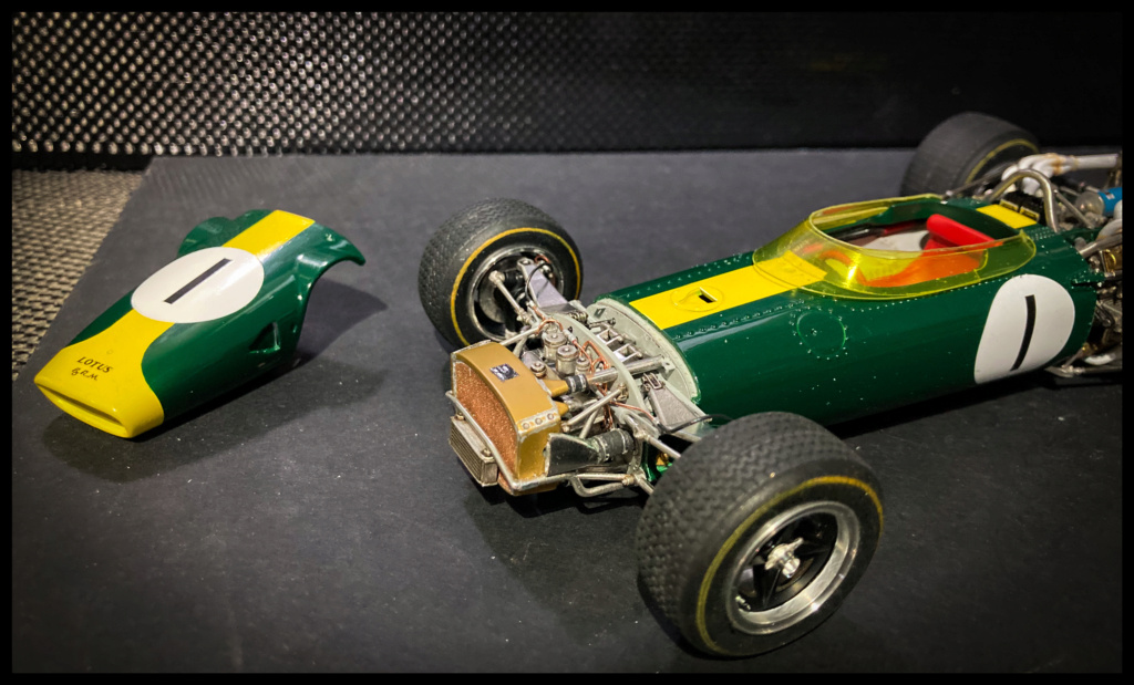 Lotus 43 BRM, Jim Clark, US GP 1966 Watkins Glen. MFH 1/20. 7137a110