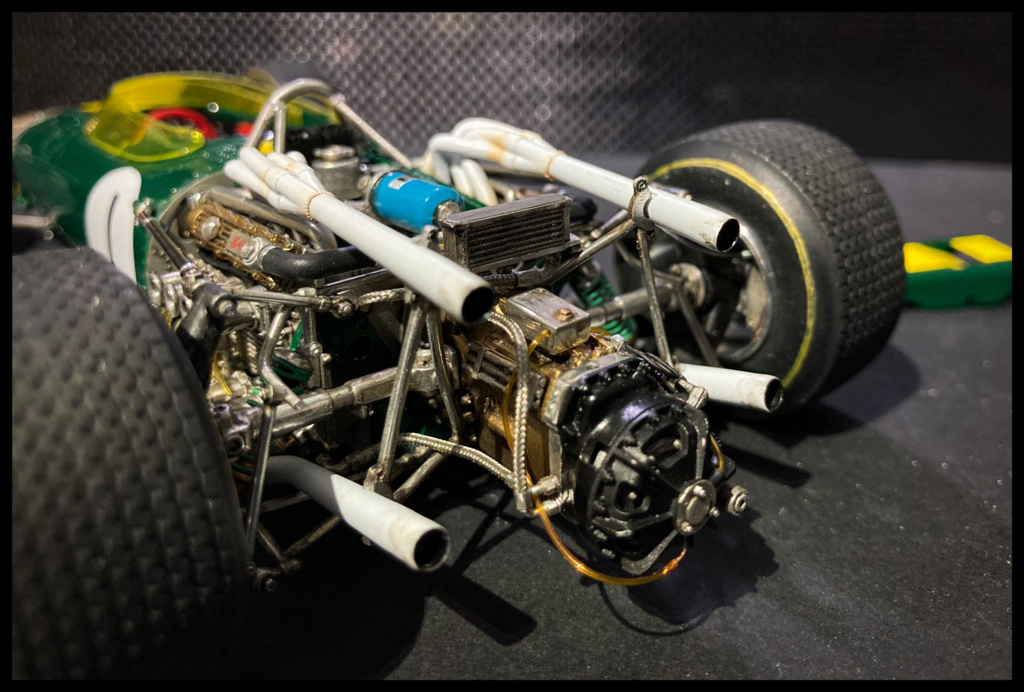 Lotus 43 BRM, Jim Clark, US GP 1966 Watkins Glen. MFH 1/20. 81cf5b10
