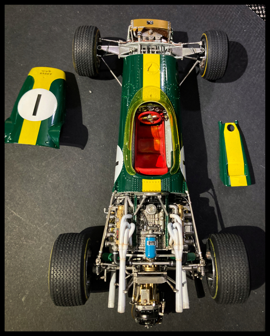 Lotus 43 BRM, Jim Clark, US GP 1966 Watkins Glen. MFH 1/20. 8a0a6410