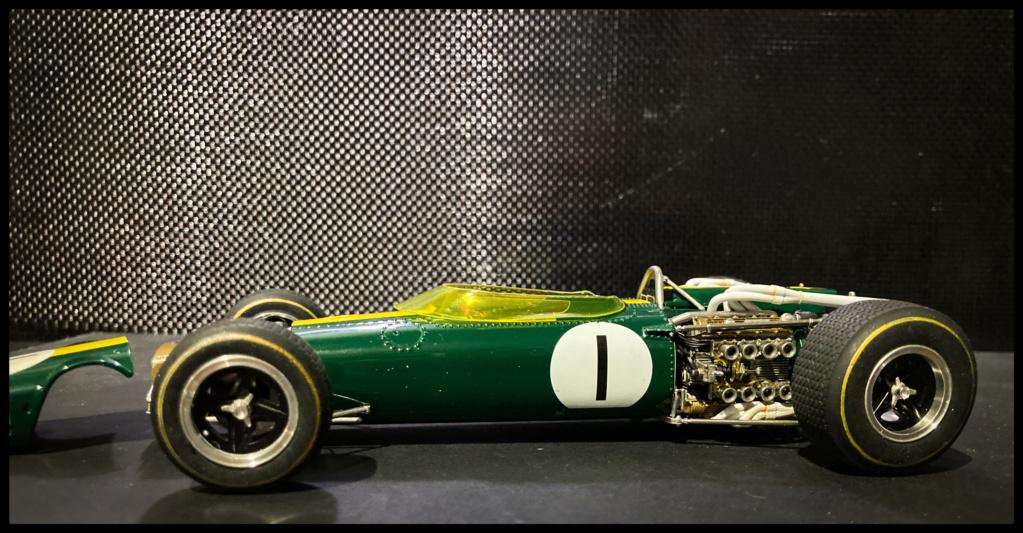 Lotus 43 BRM, Jim Clark, US GP 1966 Watkins Glen. MFH 1/20. 9f07df10