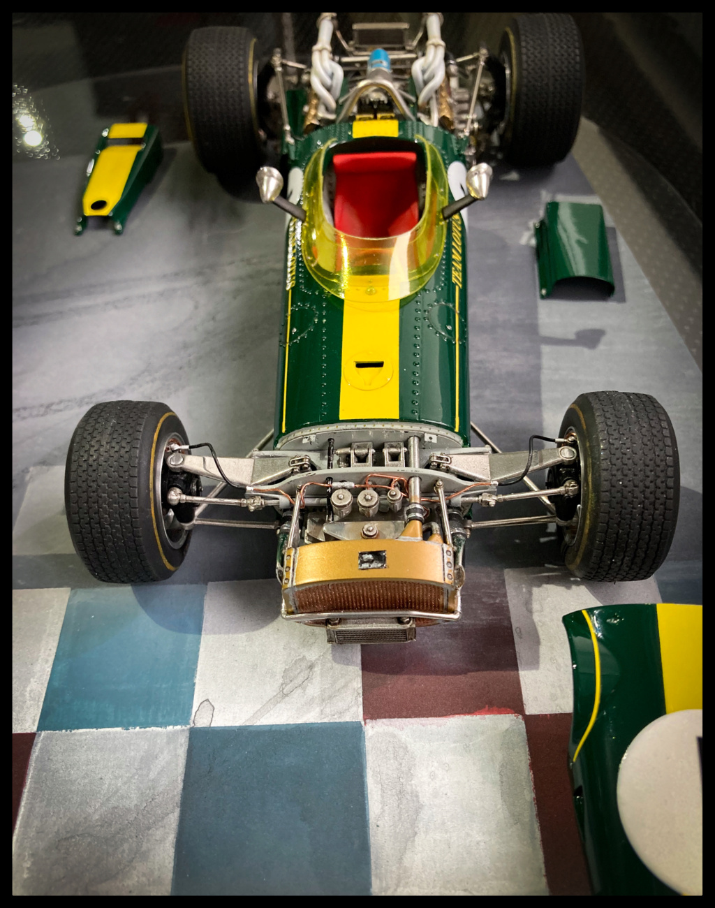 1/20 MFH 1966 Lotus 43, Jim Clark, US GP Watkins Glen. Bf44e510