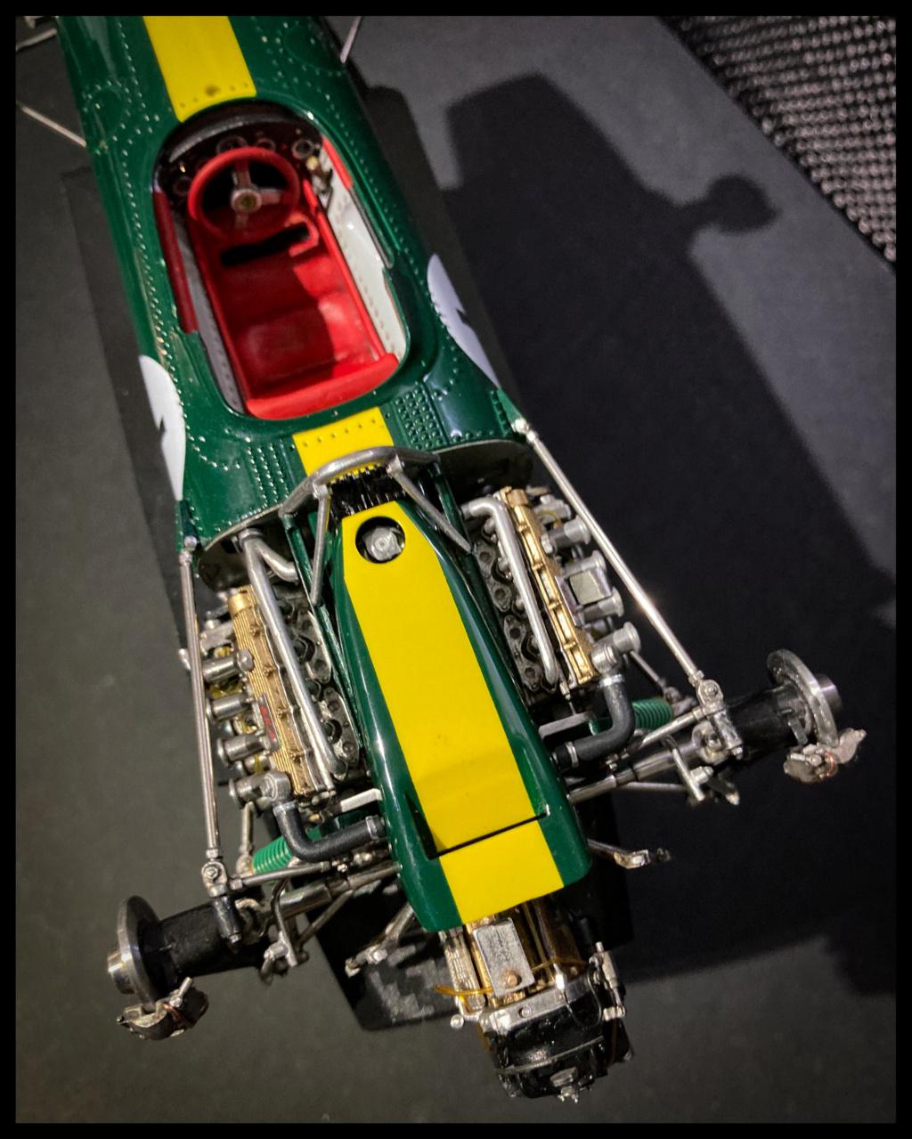 Lotus 43 BRM, Jim Clark, US GP 1966 Watkins Glen. MFH 1/20. C21c4110