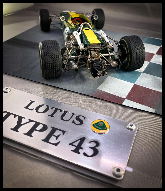 1/20 MFH 1966 Lotus 43, Jim Clark, US GP Watkins Glen. C32e6b10