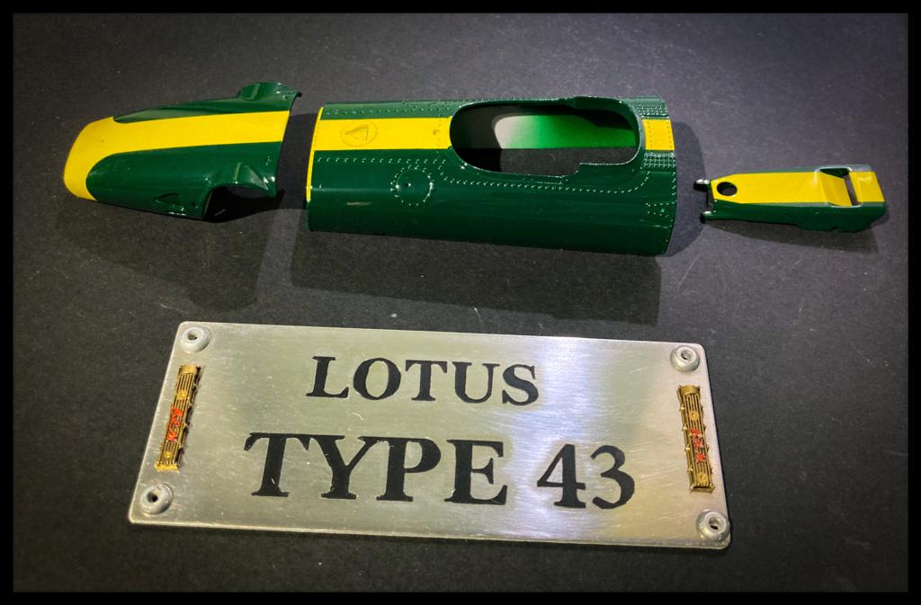 Lotus 43 BRM, Jim Clark, US GP 1966 Watkins Glen. MFH 1/20. C4a99410