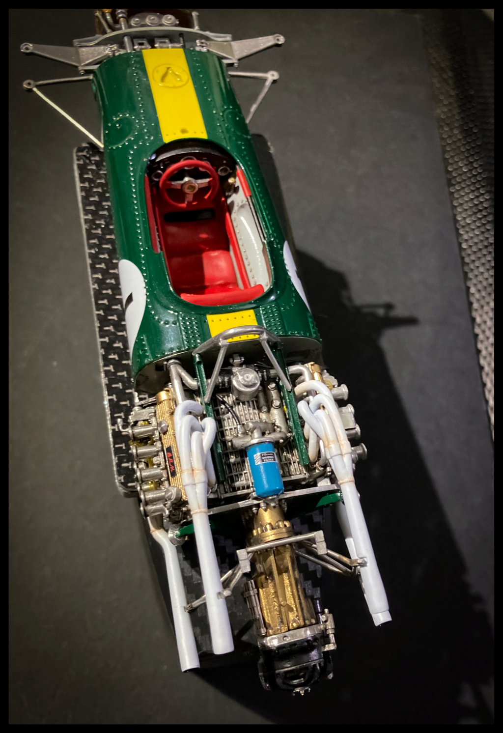 Lotus 43 BRM, Jim Clark, US GP 1966 Watkins Glen. MFH 1/20. De3d9b10