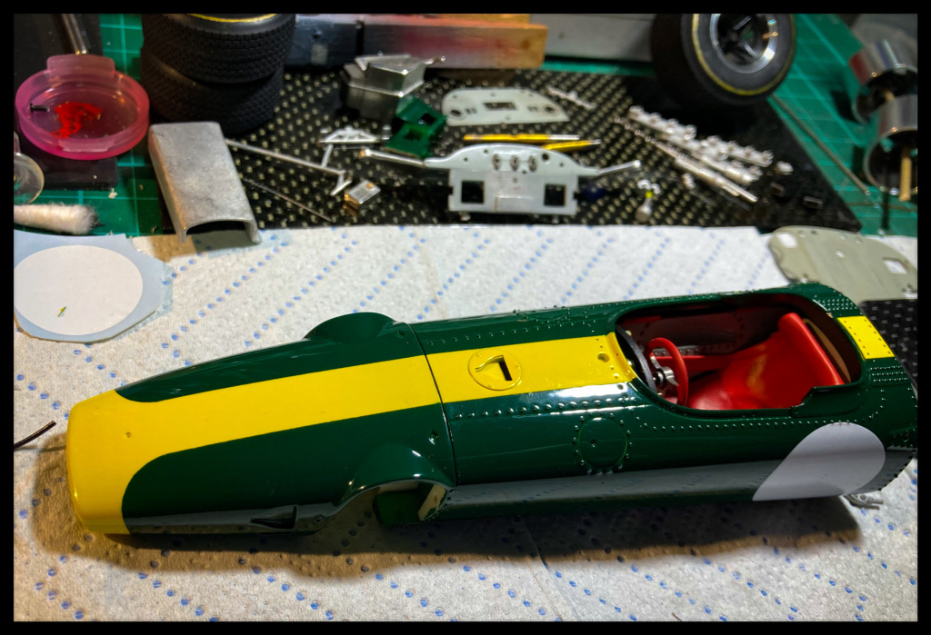 Lotus 43 BRM, Jim Clark, US GP 1966 Watkins Glen. MFH 1/20. F49c2c10