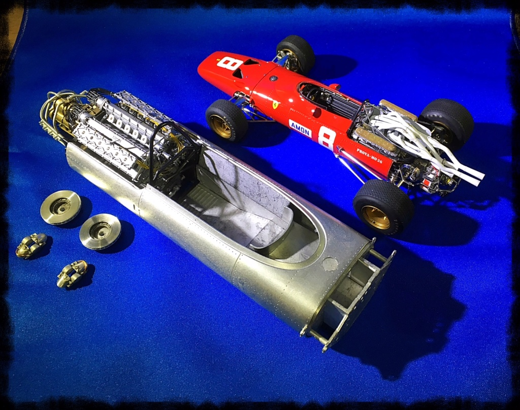Ferrari 312F1, Chris Amon, Monaco 1967. Model Factory Hiro, 1/12. Img_3611