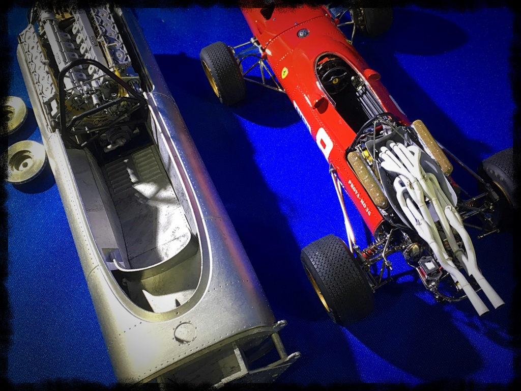 Ferrari 312F1, Chris Amon, Monaco 1967. Model Factory Hiro, 1/12. Img_3616