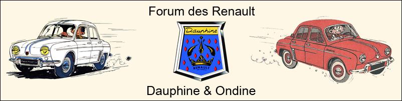 Forum des Renault Dauphine et Ondine