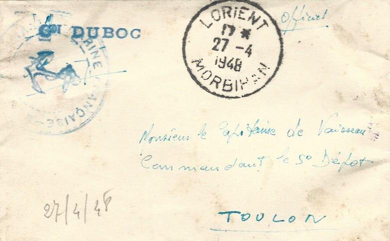 * COMMANDANT DUBOC (1939/1963) * 041_0015