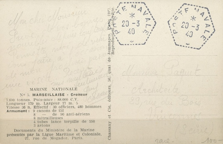 Bureau Postal Naval Temporaire N° 34 de Diego-Suarez 064_0013