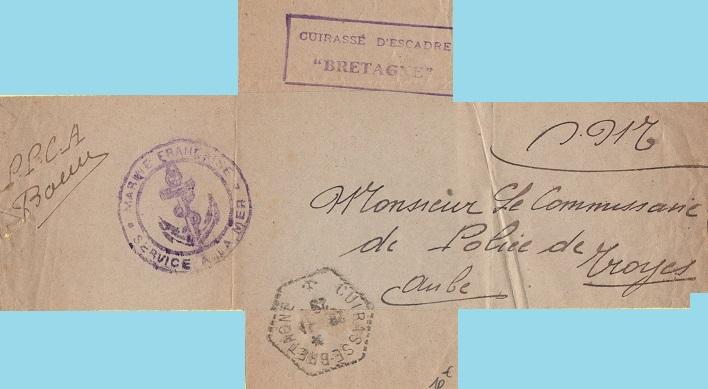 * BRETAGNE (1916/1940) * 116_0010