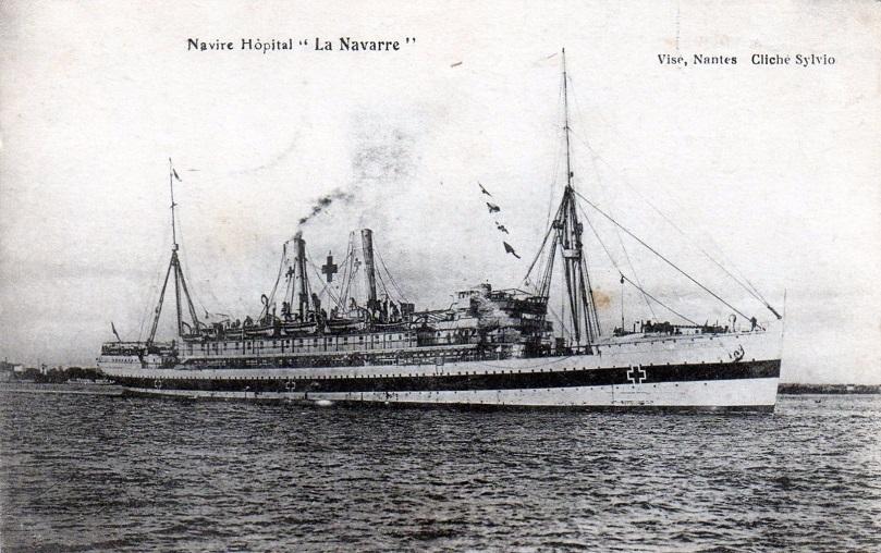 * LA NAVARRE (1916/1918) * 117_0010
