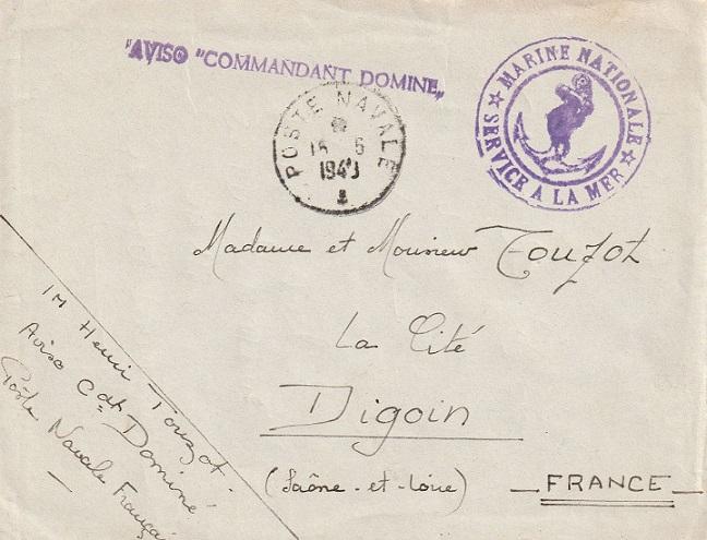 * COMMANDANT DOMINE (1940/1960) * 128_0011