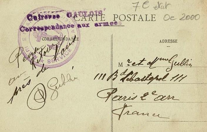 * GAULOIS (1899/1916) * 133_0010