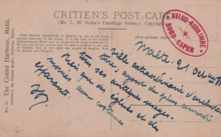* NORD CAPER (1914/1919 et 1940/1940) * 14-1010