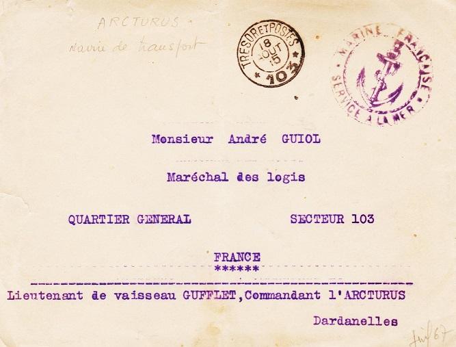 * ARCTURUS (1914/1923 et 1939/1945) * 15-0810