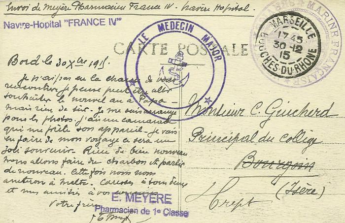* FRANCE IV (1915/1918) * 15-1210