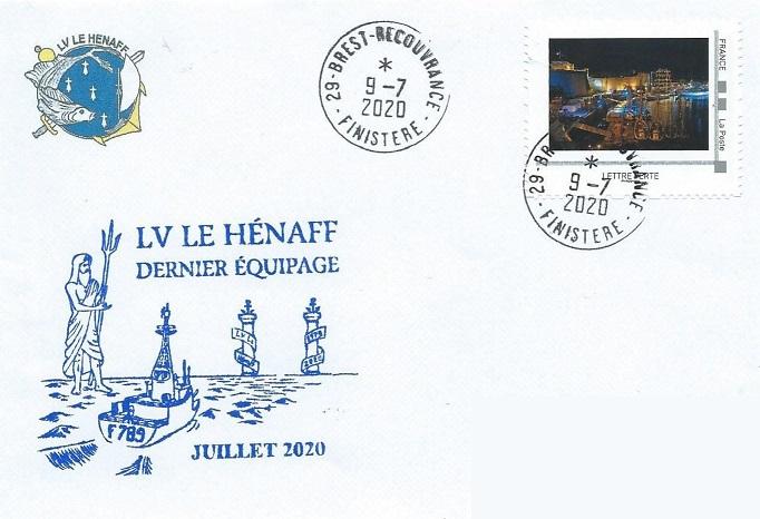 * LIEUTENANT DE VAISSEAU LE HÉNAFF (1980/2020) * 153_0014