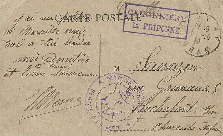 * FRIPONNE (1916/1920) * 16-1010