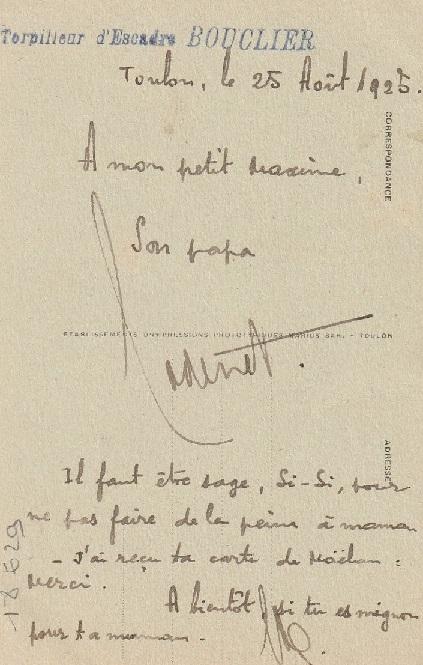 * BOUCLIER (1911/1933) * 186_0011