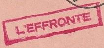* L'EFFRONTÉ (1959/1978) * 189_0012
