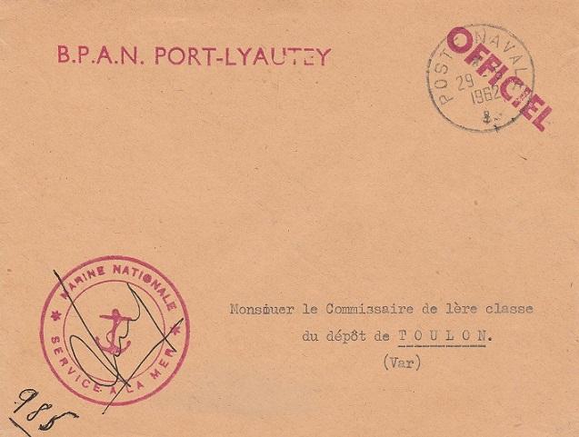 * PORT-LYAUTEY - KENITRA - CASABLANCA * 190_0011