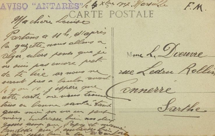 * ANTARES (1916/1936) * 1917-111
