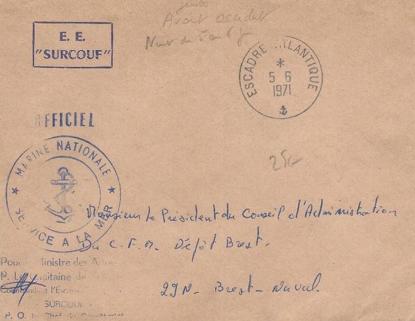* SURCOUF (1955/1971) * 195_0011