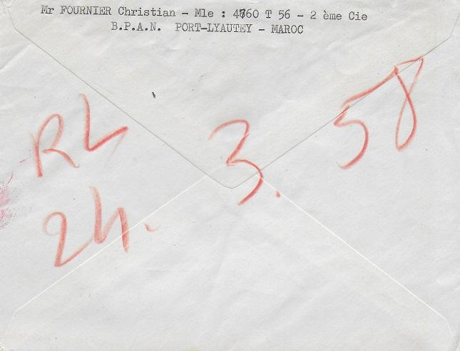 * PORT-LYAUTEY - KENITRA - CASABLANCA * 195_0013