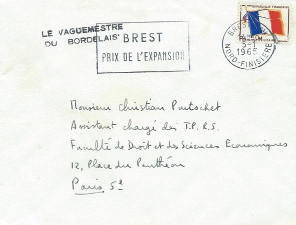 * LE BORDELAIS (1955/1976) * 1965-010