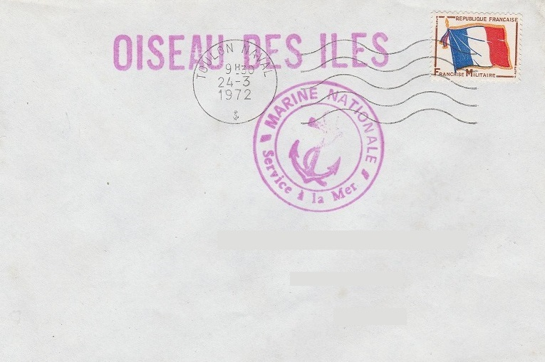 * OISEAU DES ÎLES II (1943/1978) * 1972-013