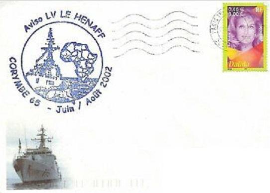 * LIEUTENANT DE VAISSEAU LE HÉNAFF (1980/....) * 2002-013