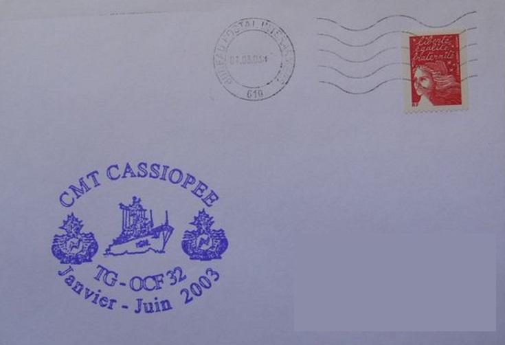 * CASSIOPÉE (1984/....) * 2003-020