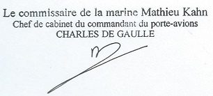 * CHARLES DE GAULLE (2001/....) * 2003-110