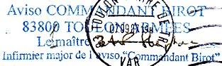 * COMMANDANT BIROT (1984/....) * 2007-012