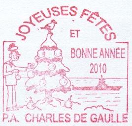 * CHARLES DE GAULLE (2001/....) * 2010-013
