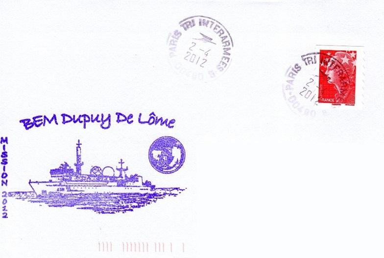 * DUPUY DE LÔME (2006/....) * 2012-015