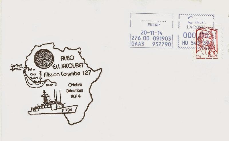 * ENSEIGNE DE VAISSEAU JACOUBET (1982/....) * 2014-112